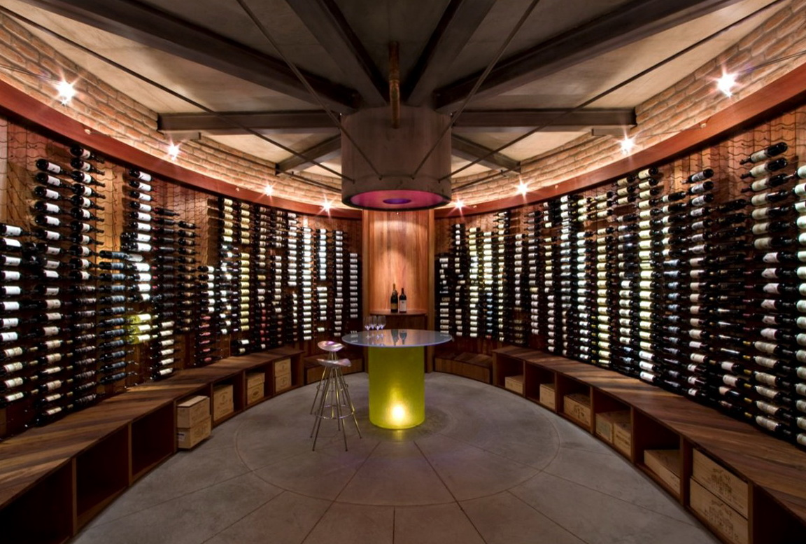 Wine cellar design ideas and pictures cool wine cellar Home wine cellar design