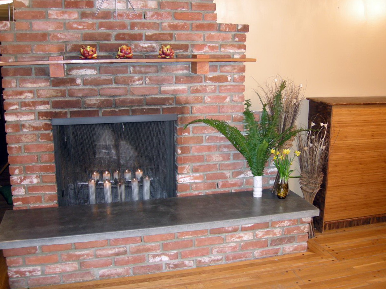 How To Build A Raised Fireplace Hearth Home Design Ideas