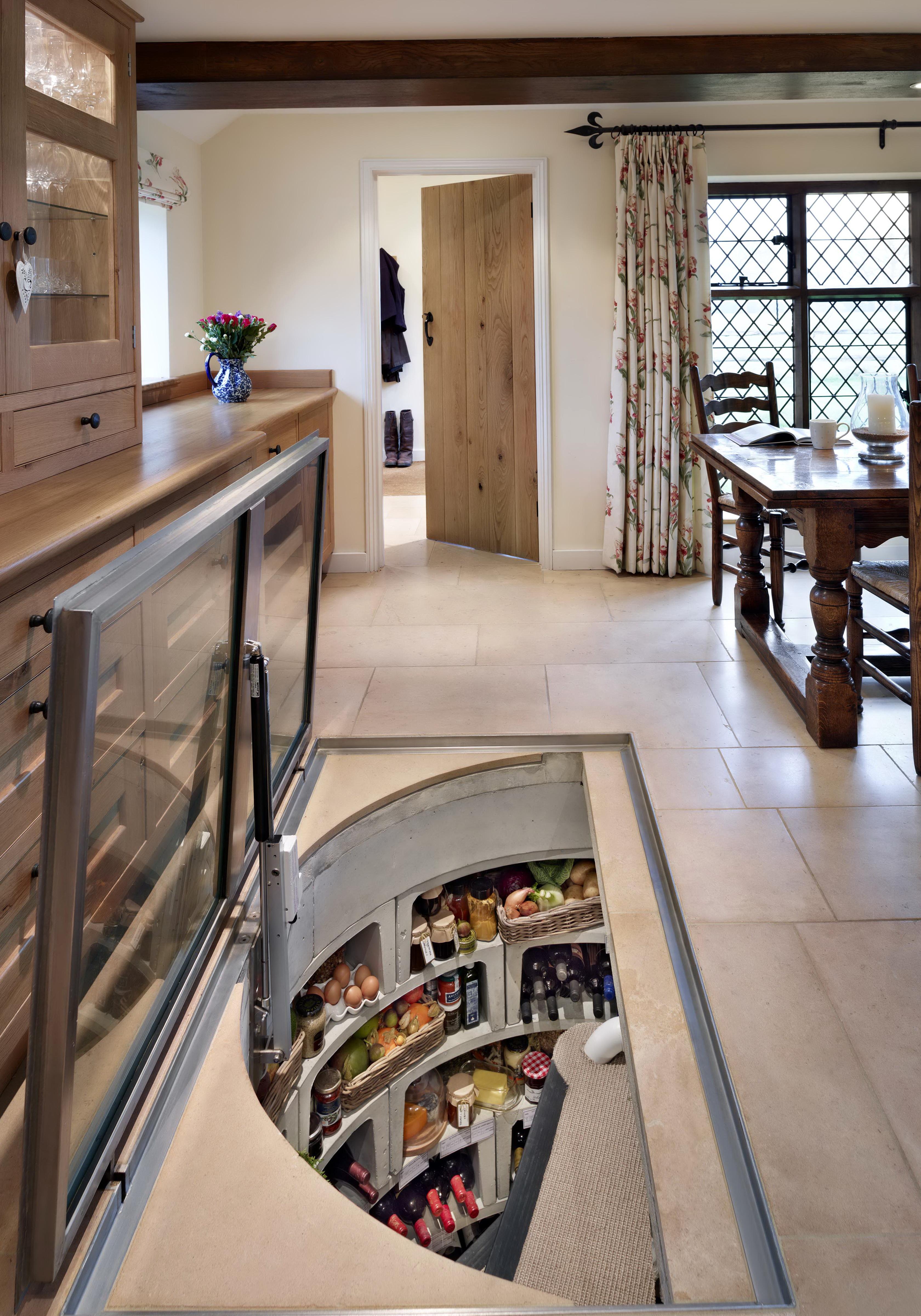 Kitchen Underground Wine Cellar | Home Design Ideas