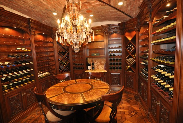 Luxury Home Wine Cellars