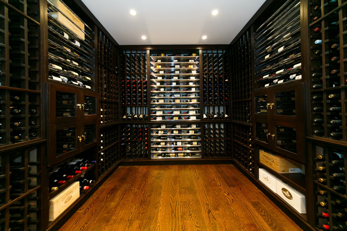 Permalink to Modern Home Wine Cellars