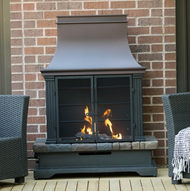 Outdoor Propane Fireplaces Canada Home Design Ideas