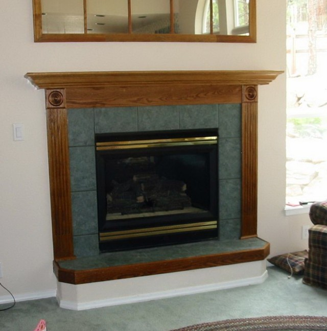 Raised Hearth Fireplace Designs: How To Build A Raised Fireplace Hearth