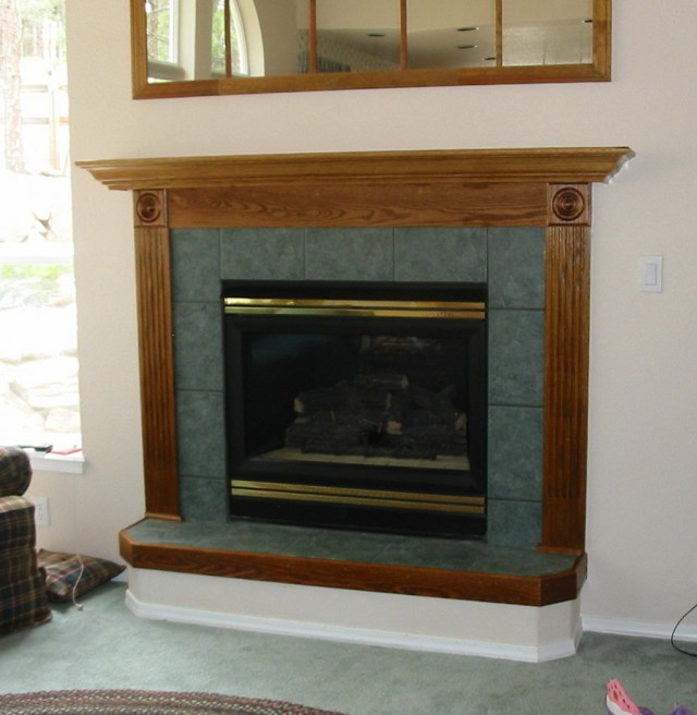 Raised Hearth Fireplace Designs: Raised Hearth Fireplace Images