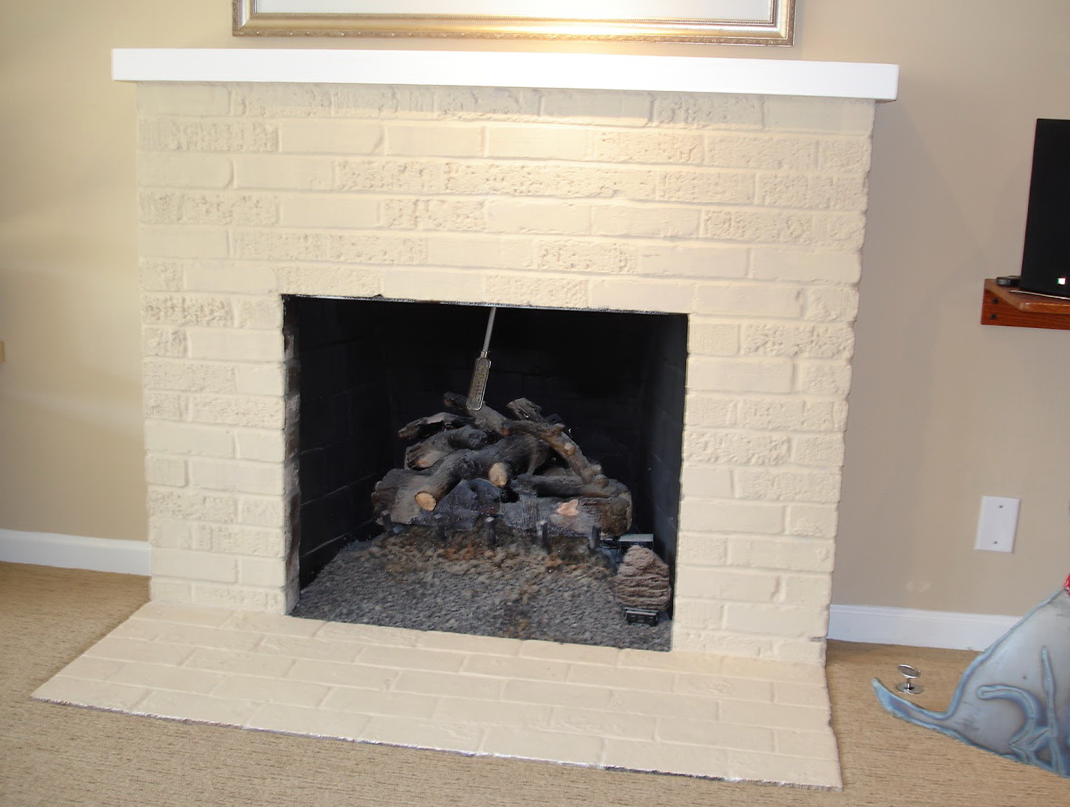 Remodel Old Brick Fireplace Home Design Ideas