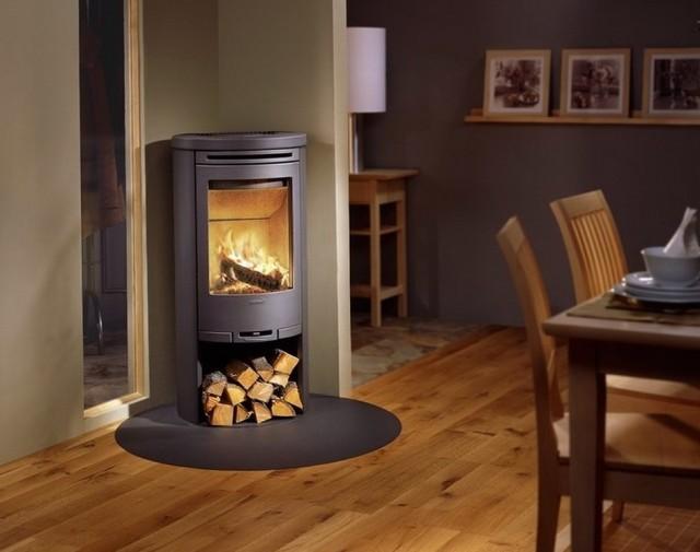 Round Mirror Above Fireplace Home Design Ideas