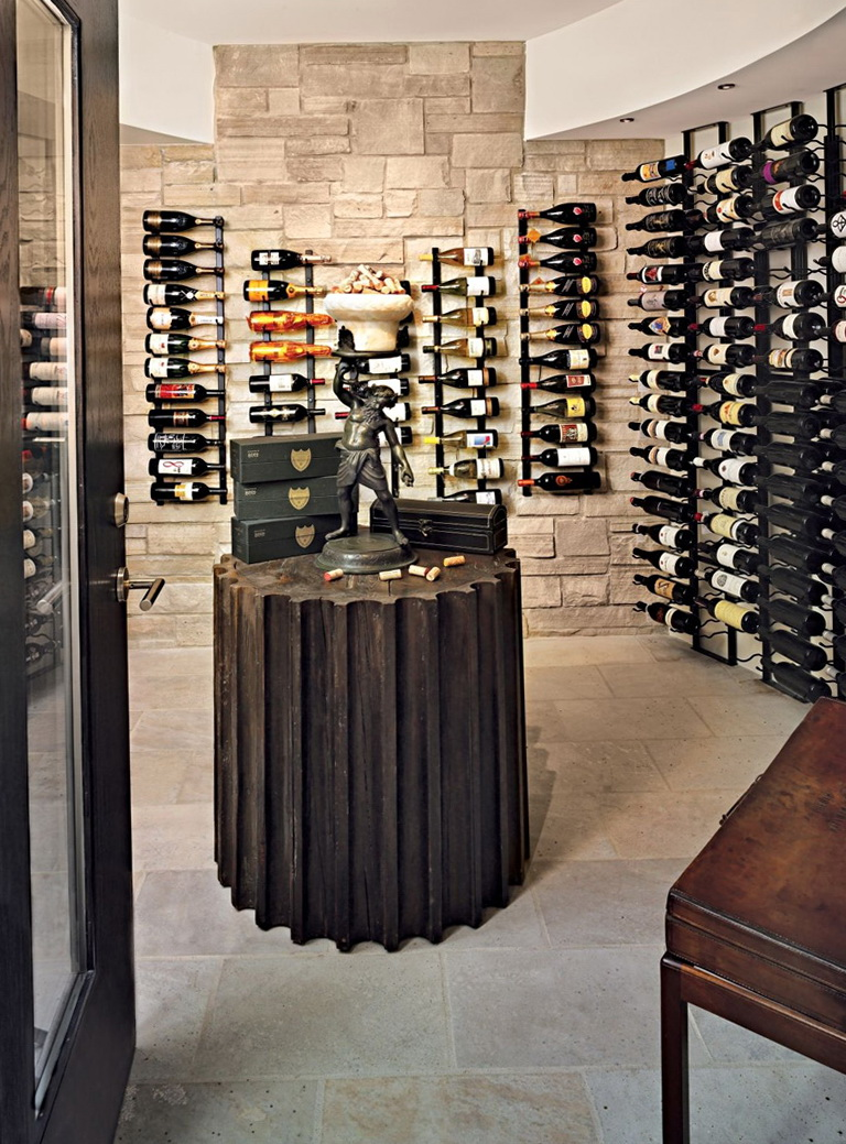 small wine cellar design. good here is an example of all heart