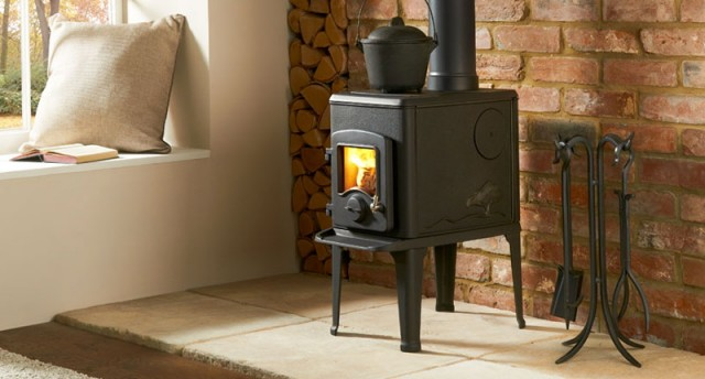 Small Wood Burning Fireplaces For Small Spaces