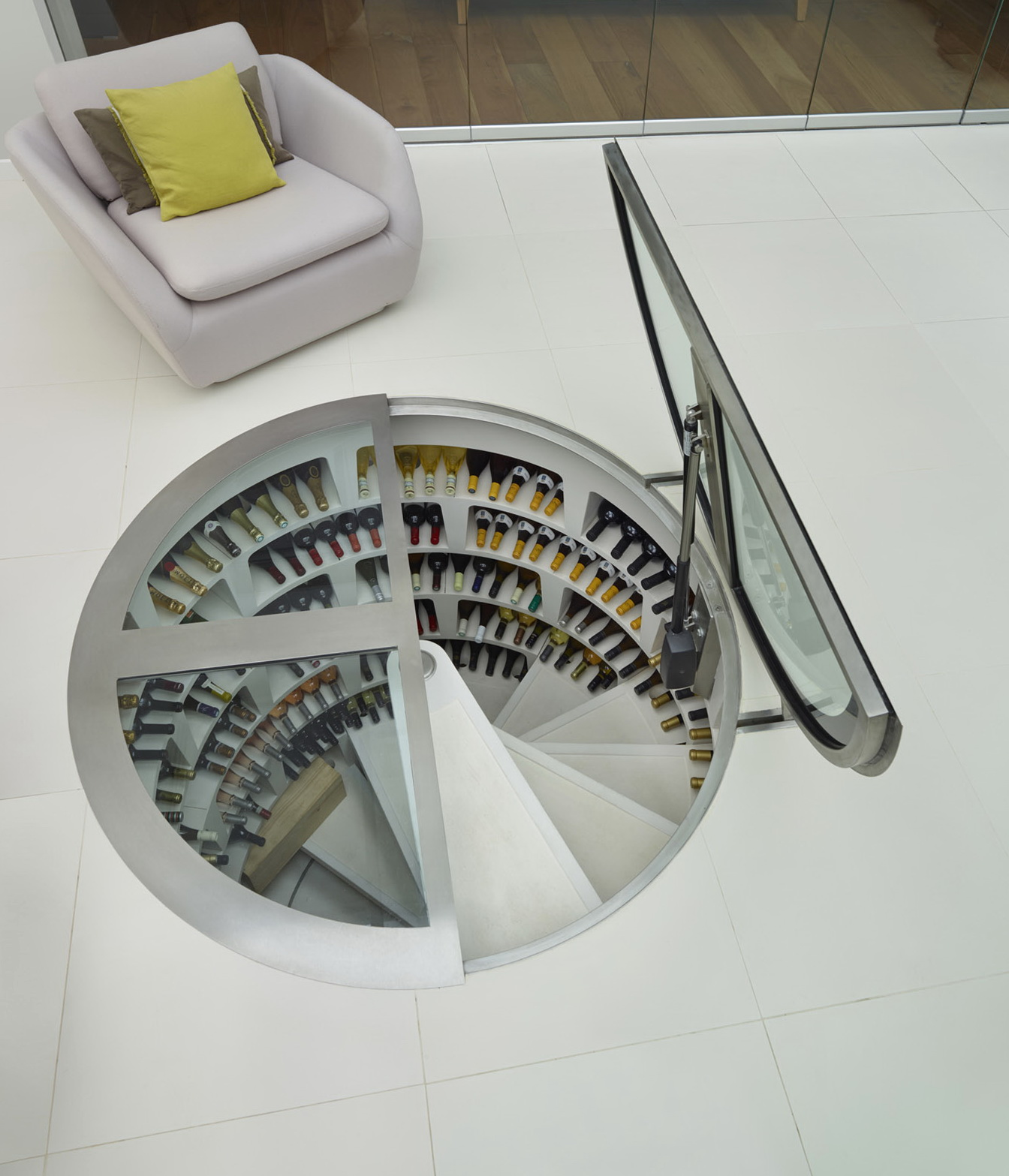 Spiral Wine Cellar Dimensions & Spiral Wine Cellar Dimensions | Home Design Ideas