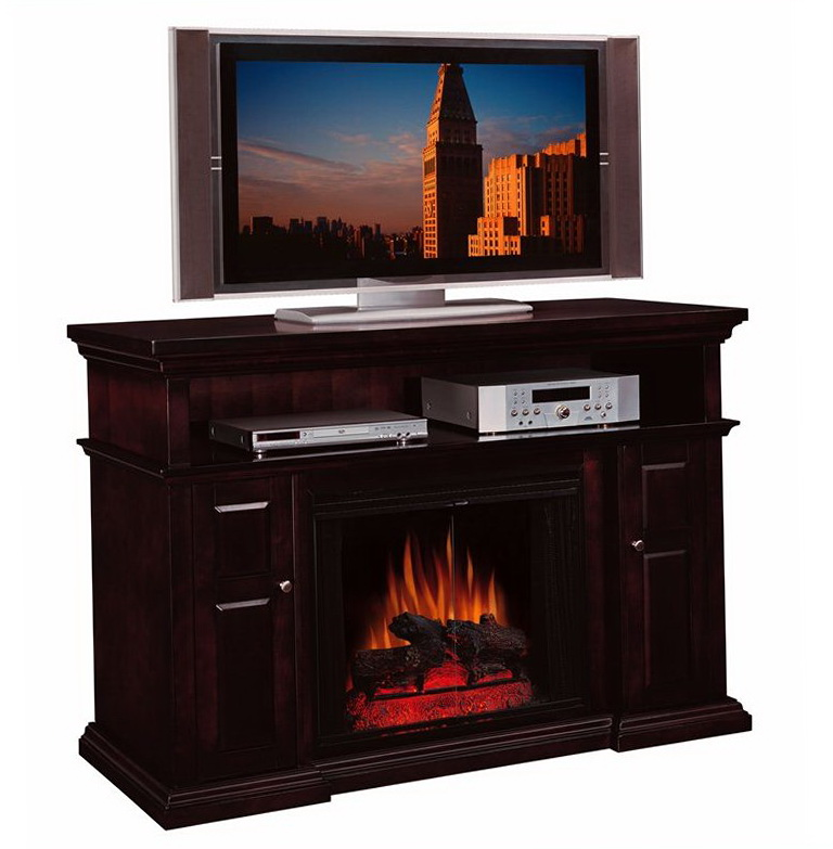 tv stand fireplace combo home design ideas. Black Bedroom Furniture Sets. Home Design Ideas