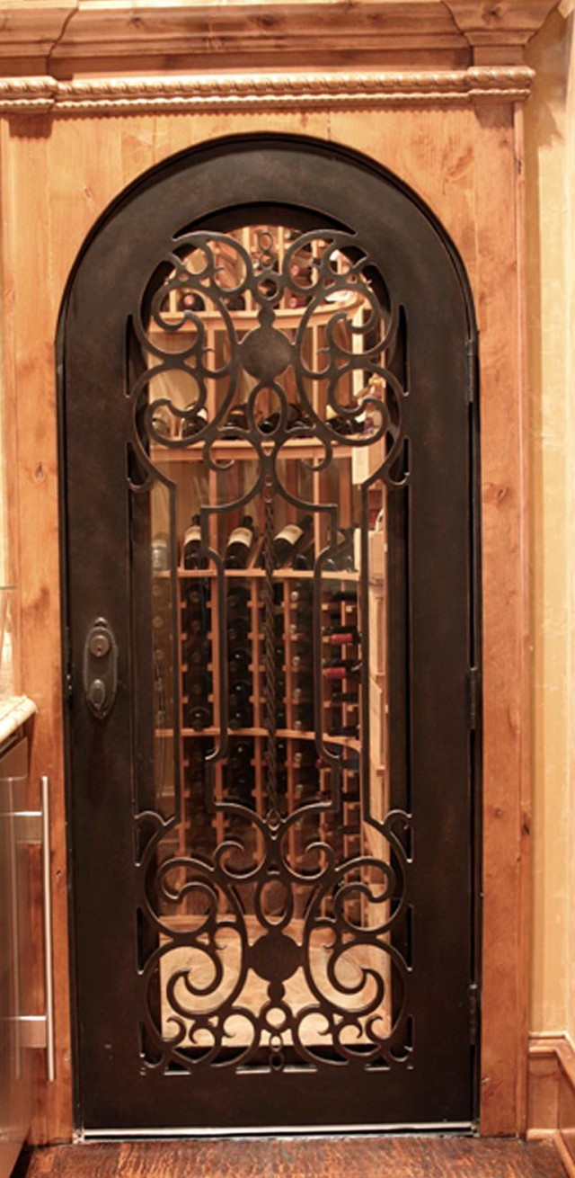 Inexpensive wine cellar door hardware image mag - Cellar door hinges ...