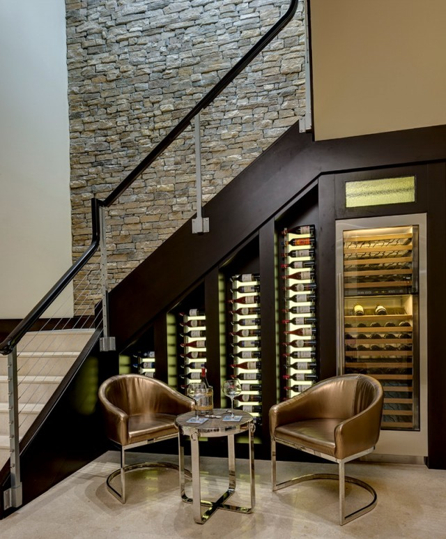 Wine Cellar Ideas Under Stairs