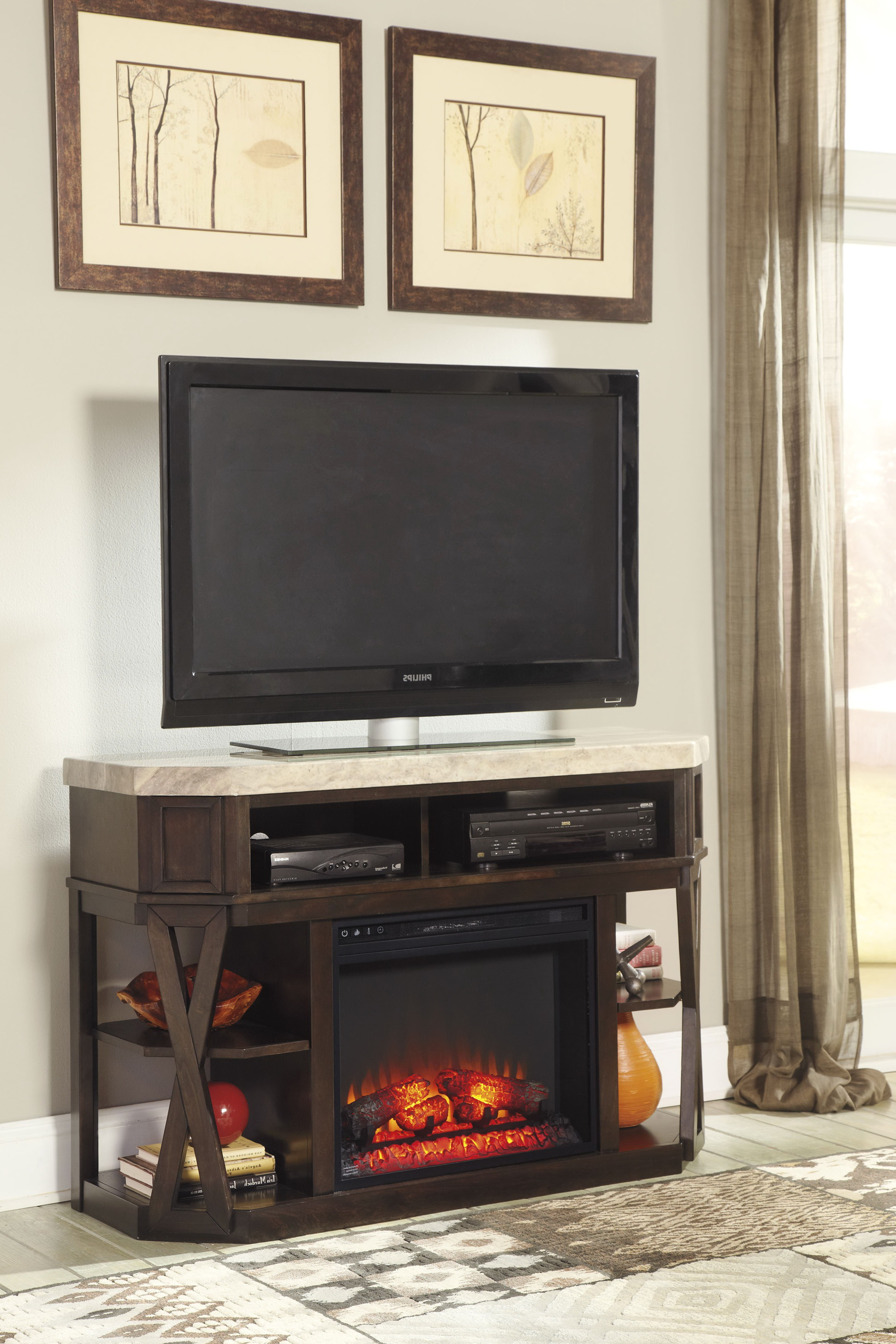 Ashley Furniture Fireplace Entertainment Center Home