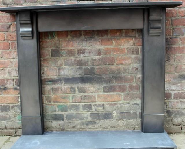 Black Slate Fireplace Surround : Gas fireplace slate surround home design ideas