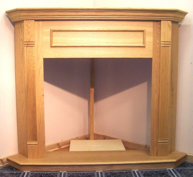 Corner Fireplace Mantels With Tv