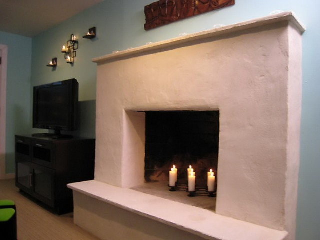 Cost To Reface Brick Fireplace