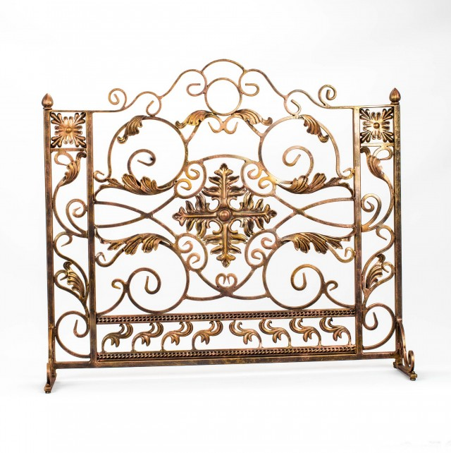 Decorative Fireplace Screens Wrought Iron Home Design Ideas