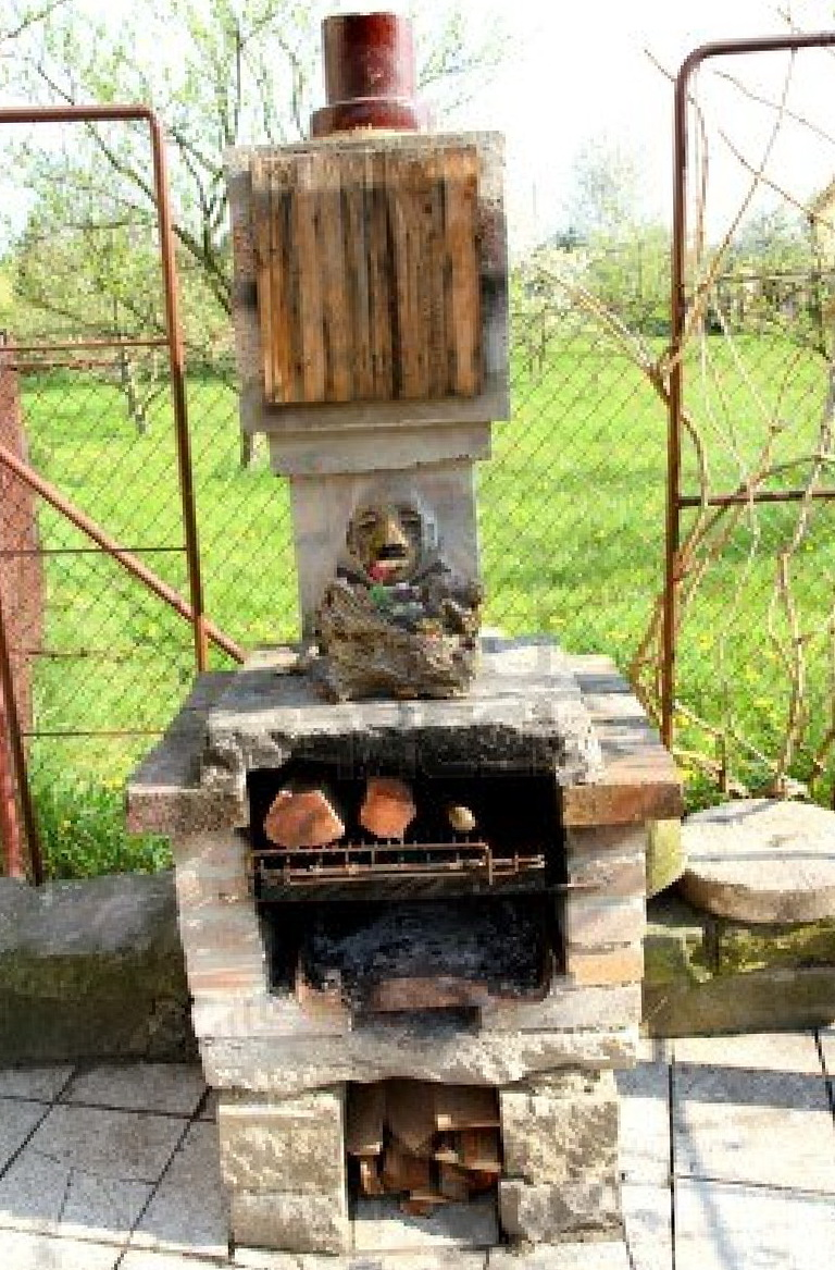 Diy Chiminea Outdoor Fireplace | Home Design Ideas