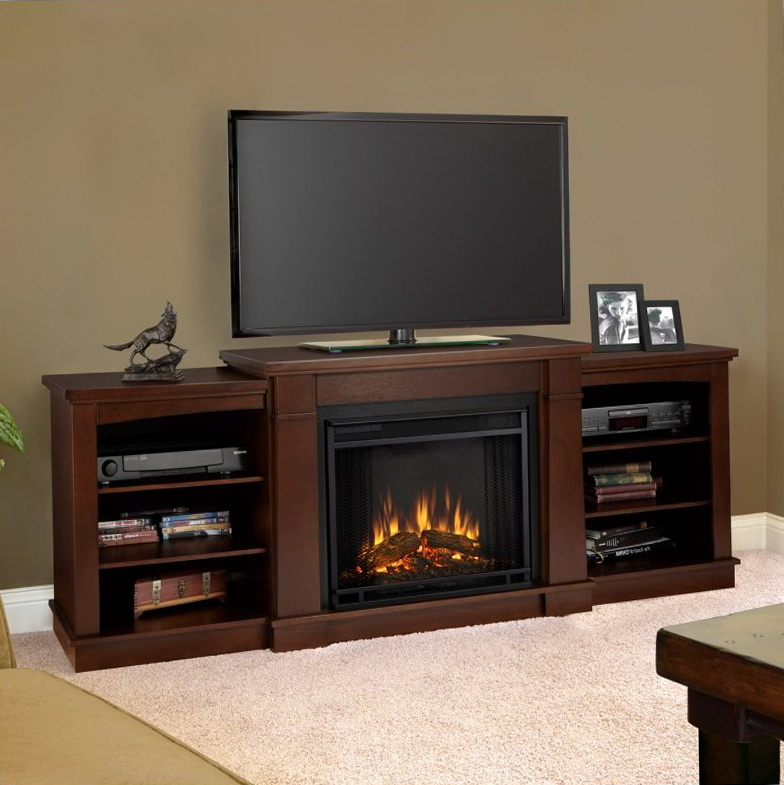 Electric Fireplace Media Stand | Home Design Ideas