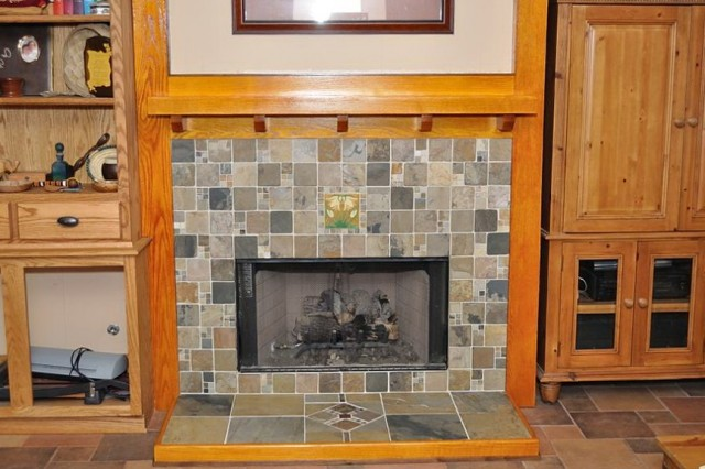 Fireplace Mantel Height Code