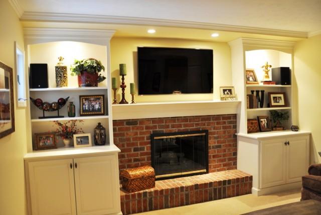 Lowes Fireplace Mantels Kits Home Design Ideas
