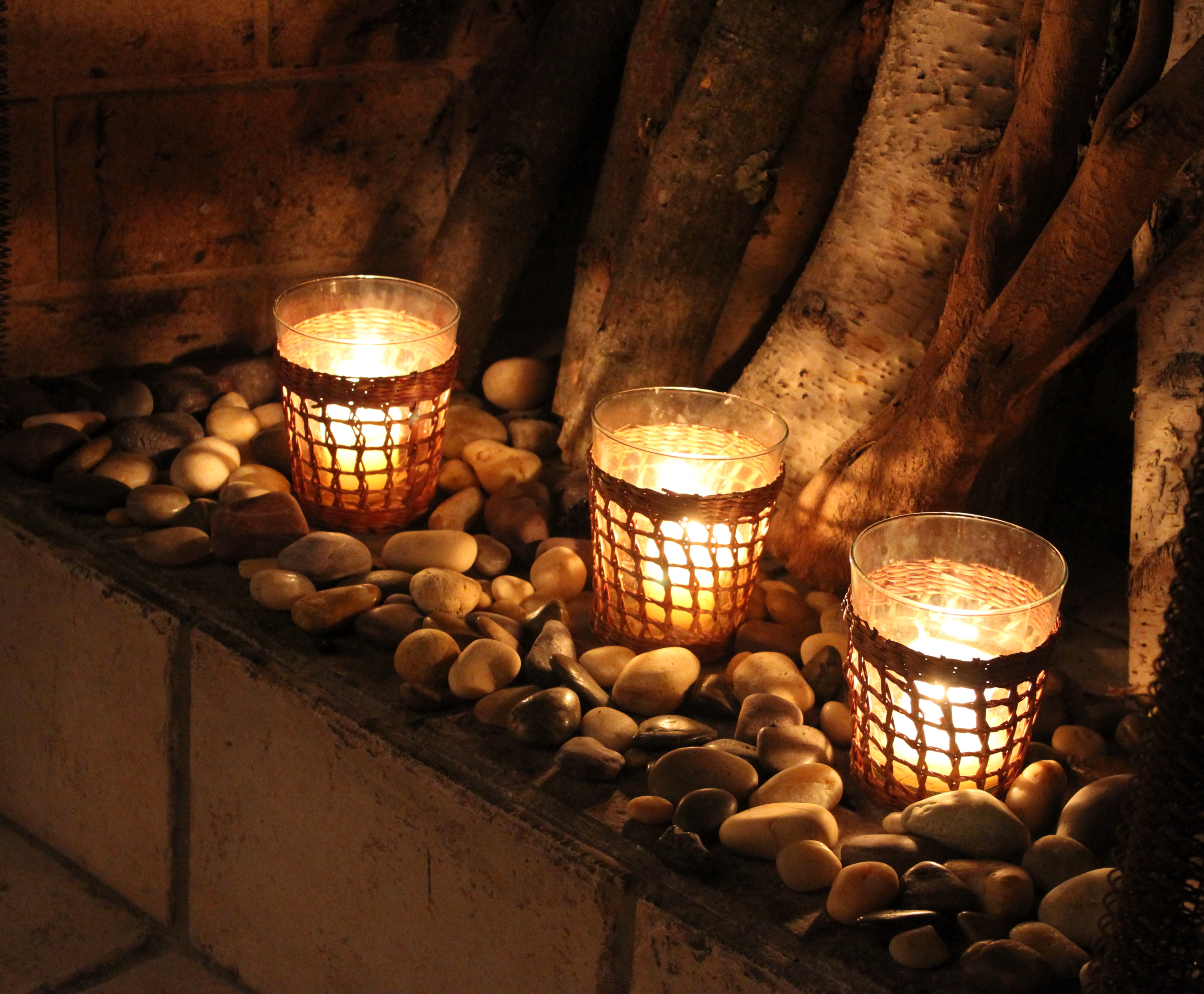 Flameless Candles For Fireplaces Home Design Ideas
