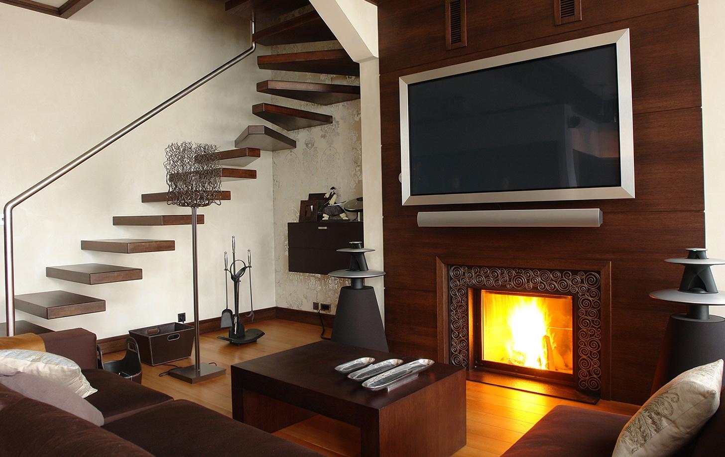 Flat Screen Tv Above Gas Fireplace Home Design Ideas