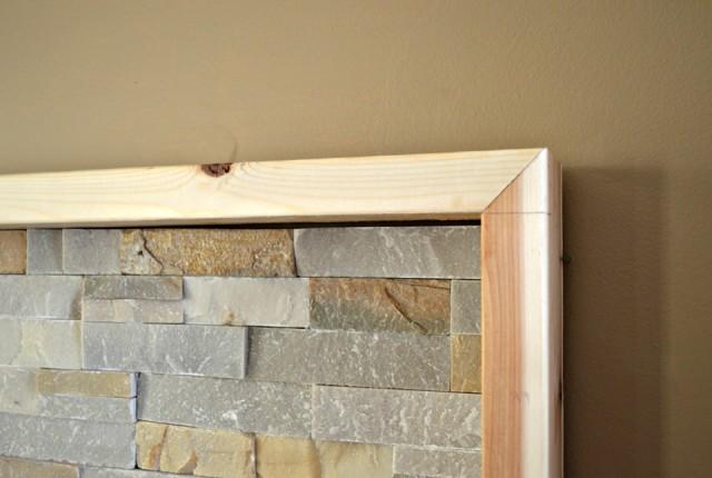 Floating Fireplace Mantel Fix Gap