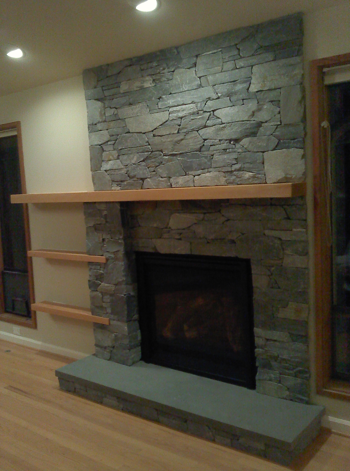 Floating Fireplace Mantel Ideas Home Design Ideas