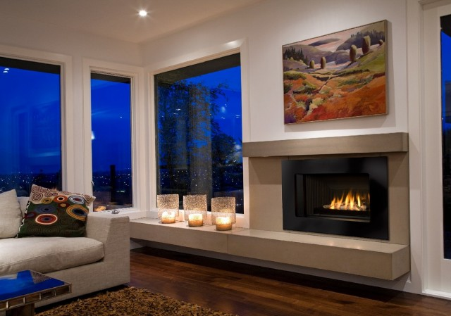 Awesome Gas Fireplace Kits Indoor Gallery Interior Design Ideas