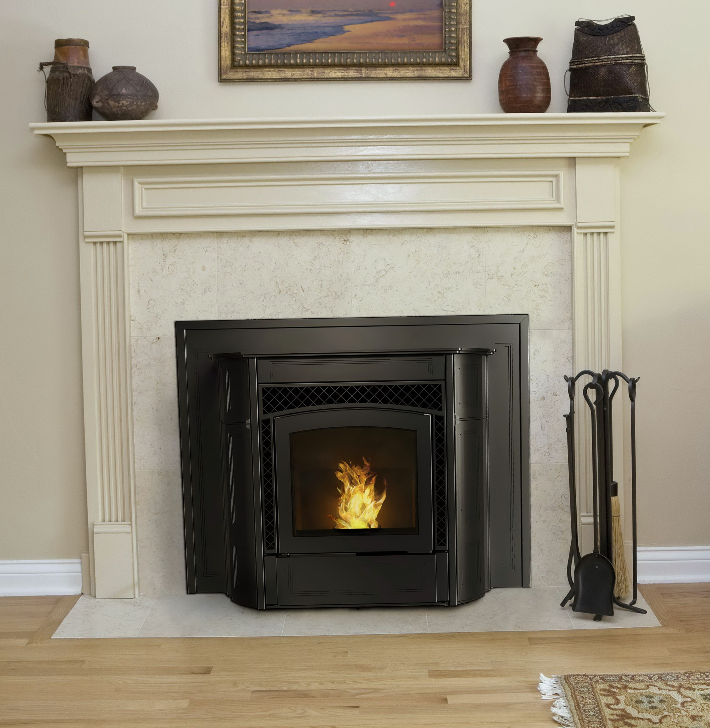 Glacier Bay Wood Stove Fireplace Insert | Home Design Ideas
