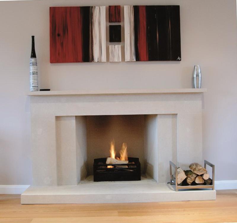 Modern Linear Fireplaces