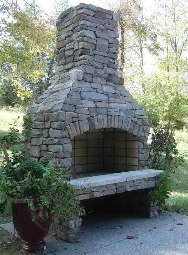 Wood Fireplace outdoor wood fireplace : Outdoor Wood Burning Fireplace Kits | Home Design Ideas
