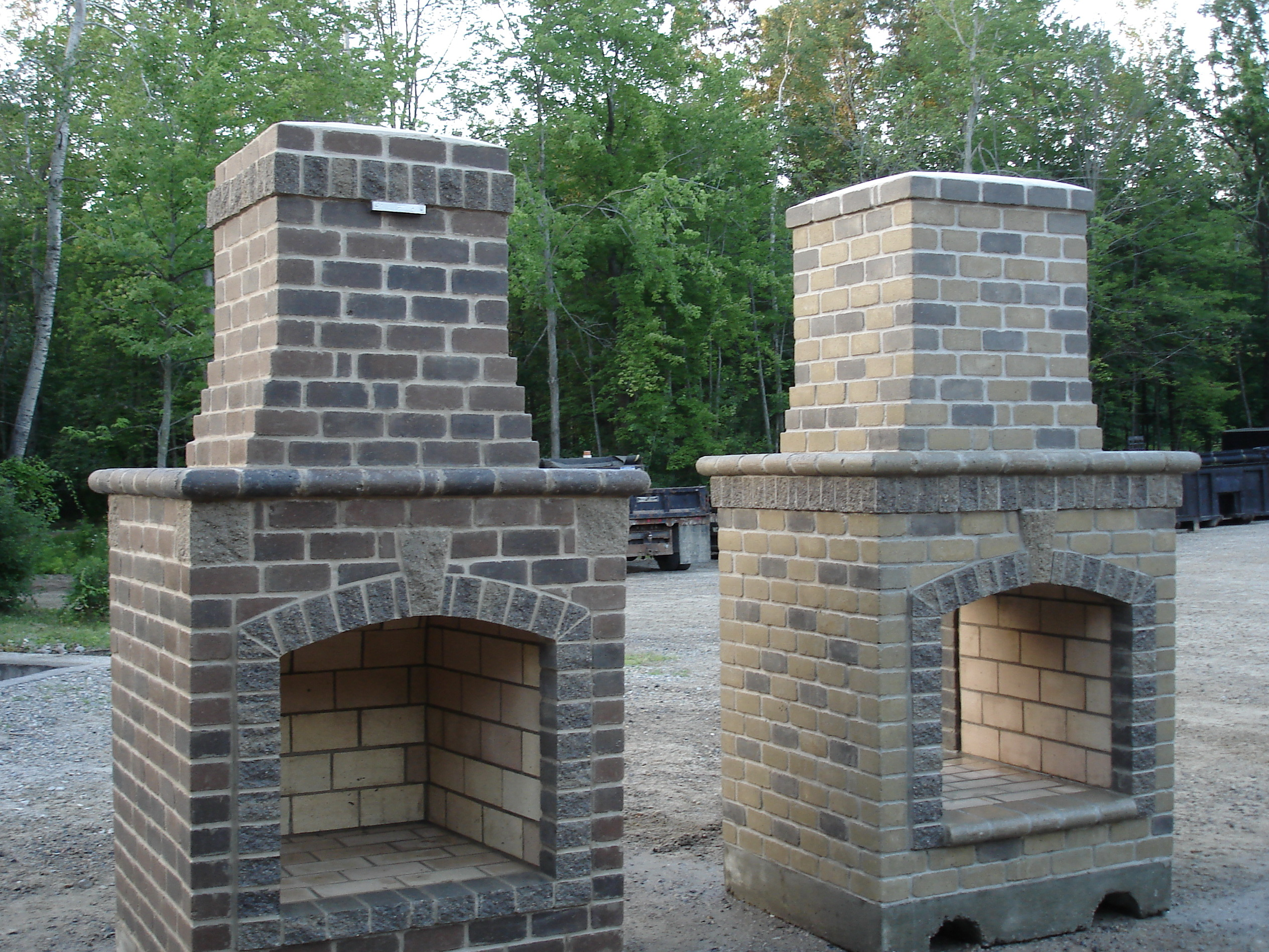 Pictures Of Small Outdoor Fireplaces Home Design Ideas