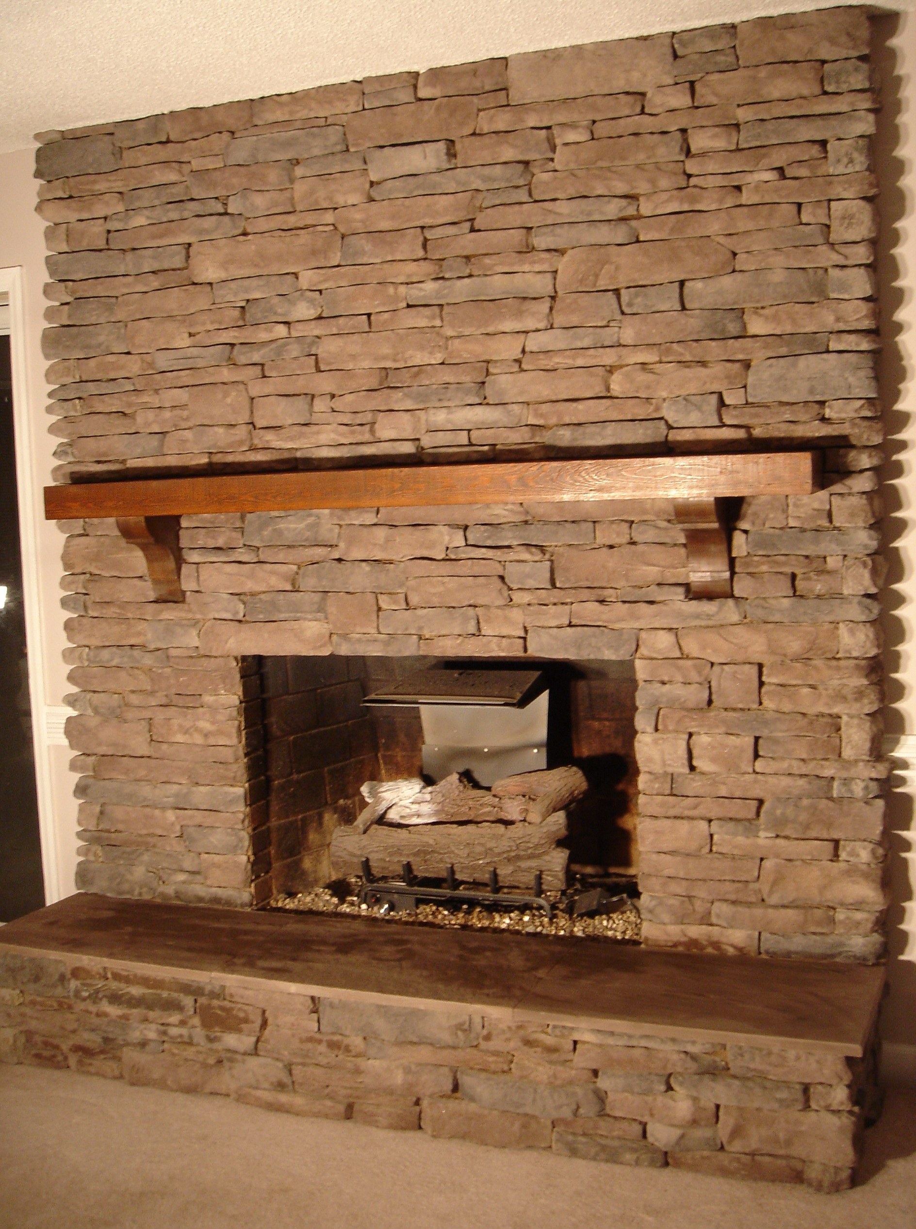 inspiration photo outstanding faux fireplace surround mantels stone interesting pics pictures decoration cast amazing