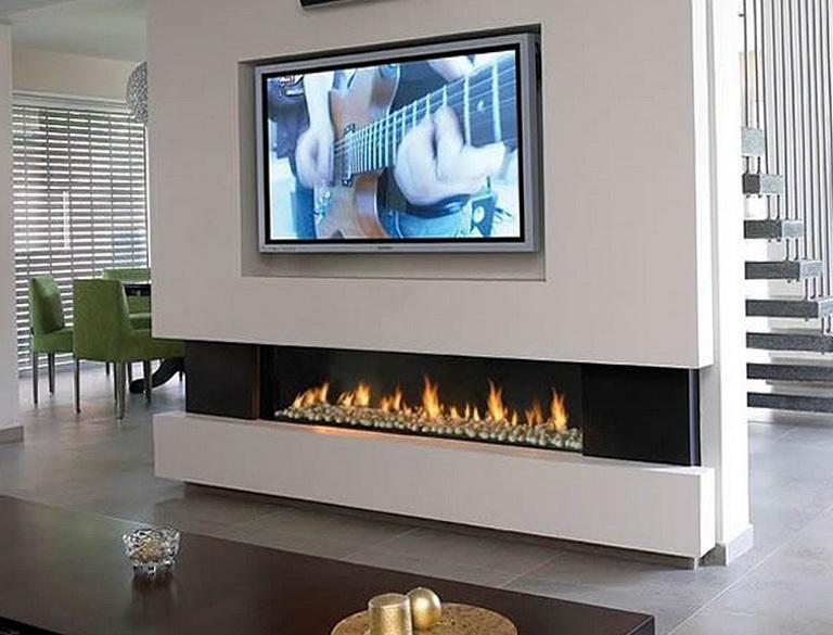 Tv Above Gas Fireplace Ideas Home Design Ideas