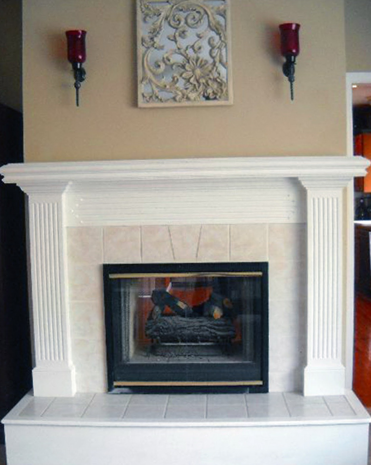 Two sided gas fireplace prices home design ideas for Double sided fireplace price