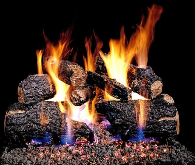 Ventless Gas Fireplace Logs Remote Control