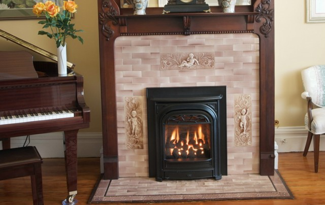 zero clearance gas fireplace for sale