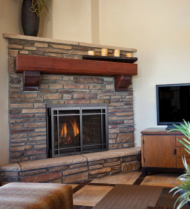 Gas Fireplace Pipe Installation Home Design Ideas