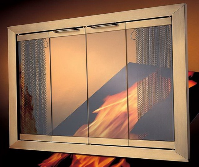 28 X 19 Fireplace Glass Doors And Screens