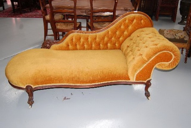 Antique Chaise Lounge For Sale
