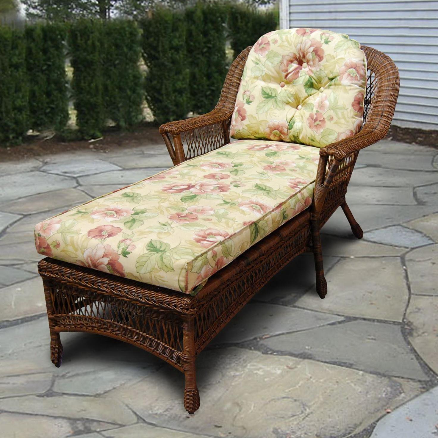 Antique Wicker Chaise Lounge Home Design Ideas