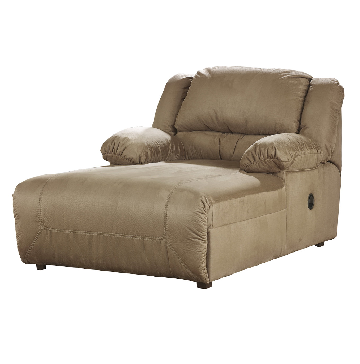 Ashley furniture chaise lounge couch home design ideas for Ashley chaise lounge recliner