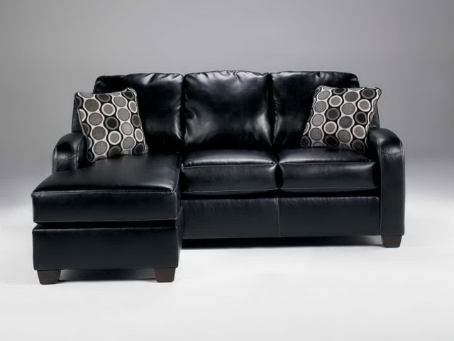Ashley furniture chaise lounge couch home design ideas for Ashley furniture leather chaise