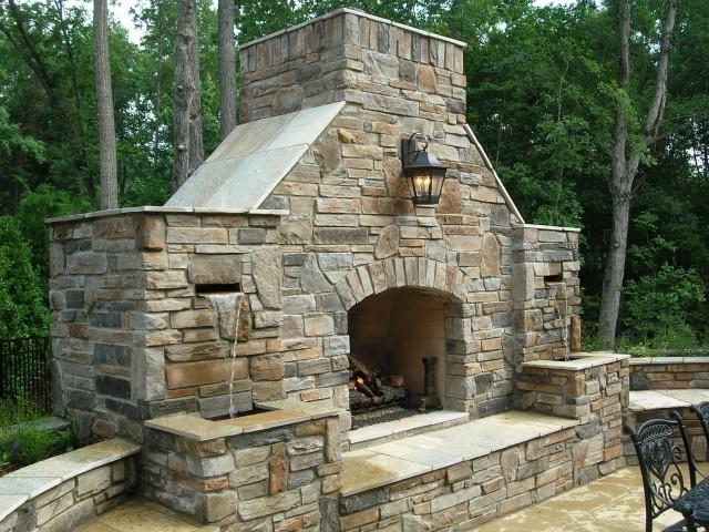 building a fireplace surround home design ideas. Black Bedroom Furniture Sets. Home Design Ideas