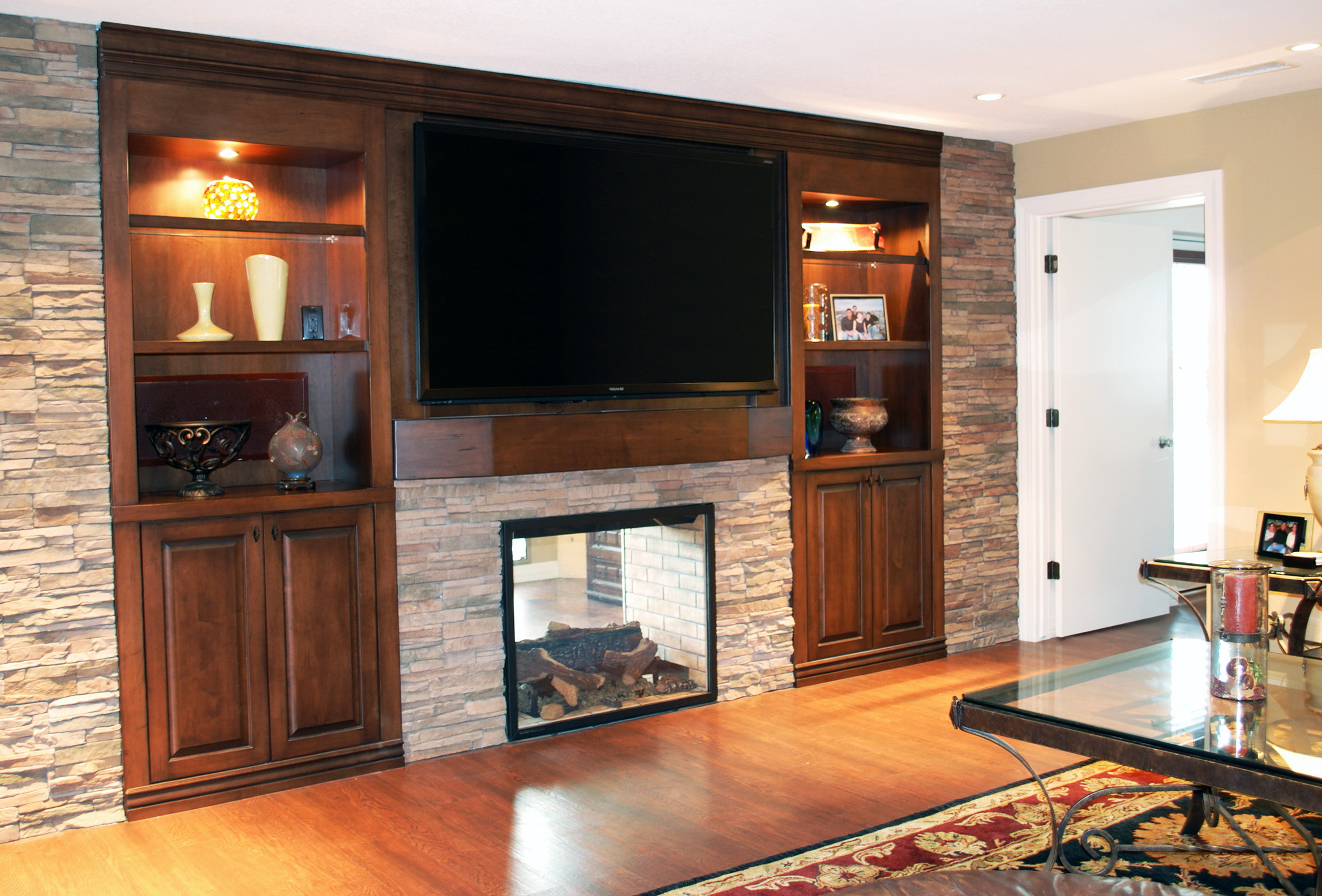 Built In Entertainment Center With Fireplace Ideas   Home Design Ideas