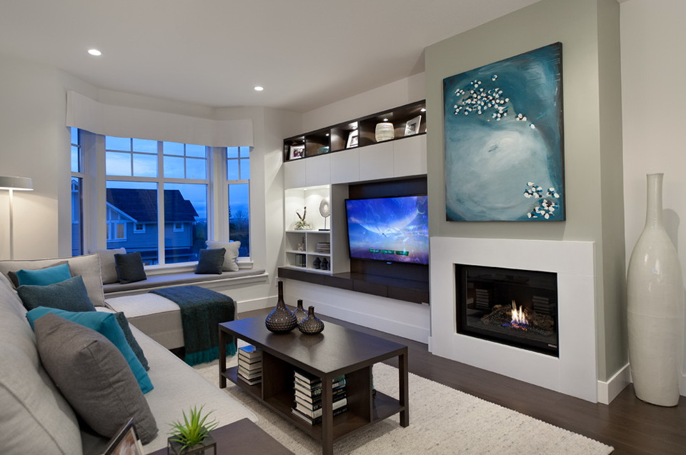 Built In Entertainment Center With Fireplace Modern | Home Design Ideas