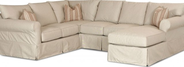 Chaise Lounge Sectional Slipcover