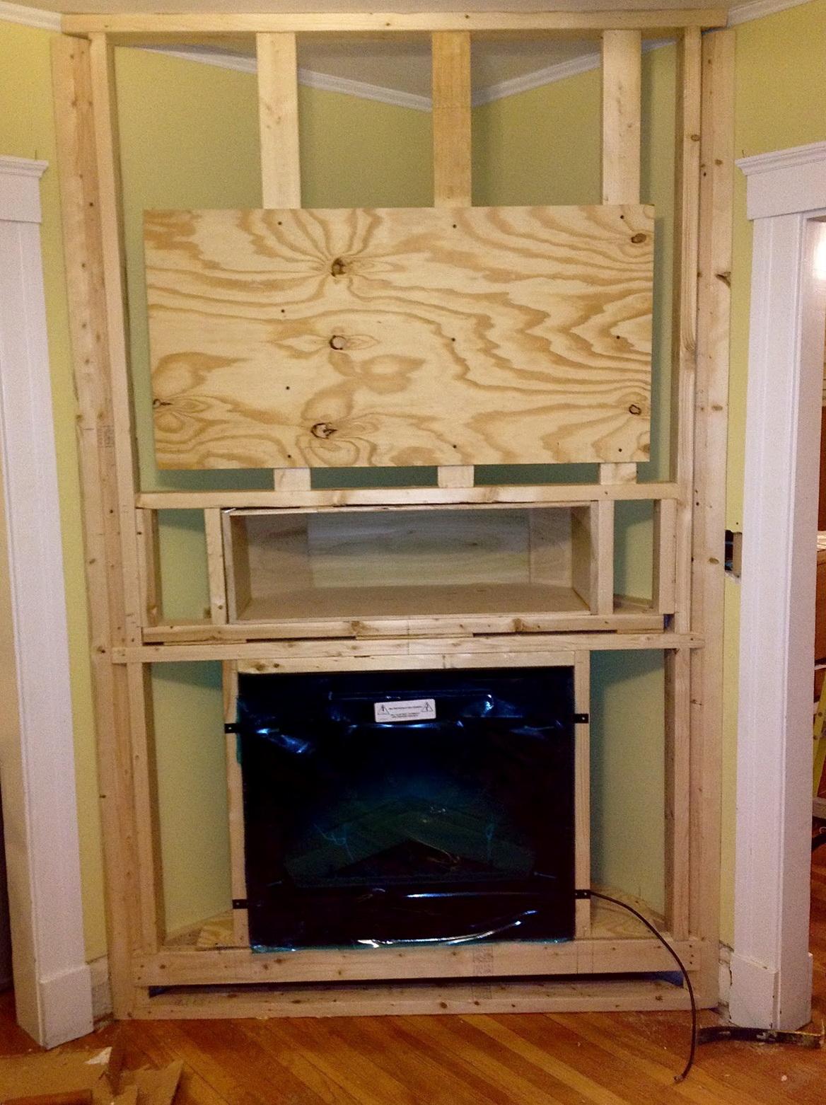 Electric fireplace diy home interior designer today electric fireplace diy solutioingenieria Images